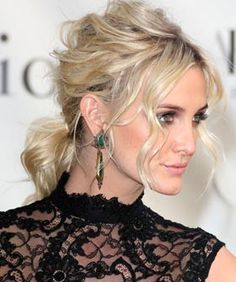 Ashlee Simpson Just Floored Us With This Red Carpet Do