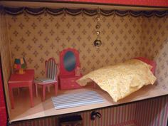Dollhouse second bedroom diy