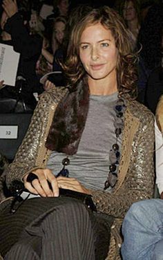 trinny woodall - love her sense of humor but what is she doing with this Saatchi guy ....