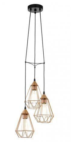 Hanglamp Eglo Tarbes Vintage Collection 94196 - Vintage - Lamp123.nl