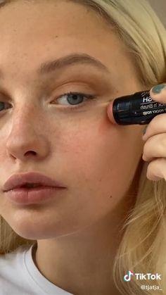 Edgy Makeup, Cute Makeup, Pretty Makeup, Simple Makeup, Skin Makeup, No Make Up Makeup, Makeup Videos, Makeup Tips, Beauty Makeup