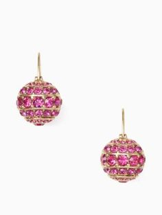 bright spark stone bauble drop earrings | Kate Spade New York