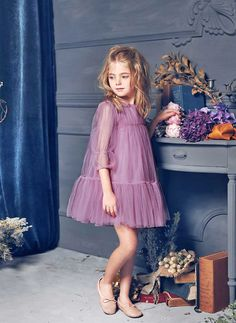 Nellystella LOVE Alice Dress in Grape Jam - N15F004 - PRE-ORDER