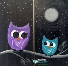 Mommy and Me Owls | Creatively Uncorked | http://creativelyuncorked.com | Creatively Uncorked | http://creativelyuncorked.com