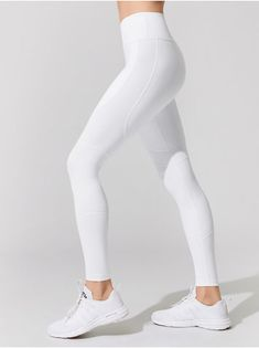 87c72764ea ALALA VAMP TIGHTS White LEGGINGS White Workout Leggings, White Leggings  Outfit, Athletic Clothes,