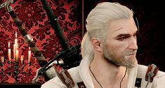 "That time he turned his head. | 22 Times Geralt Of Rivia From ""The Witcher 3"" Looked Sexy AF"