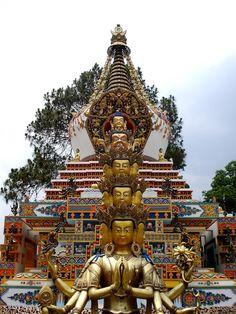 Monasterio Kopan, Kathmandu. Nepal.