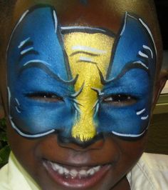 Wolverine...full face paint!