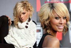 ASYMMETRICAL BOB HAIRSTYLE The asymmetrical bob hairstyle uses a razor-finish to create choppy layers. Adding curls to this look gives the rocker hairstyle a sleek and edgy feel. Try scrunching an asymmetrical bob at the ends for a dishevelled yet refined finish.