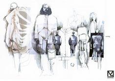 Fashion Sketchbook - fashion design development; fashion illustrations; fashion portfolio layout // Maya Agayeva