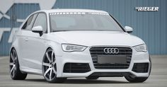 Audi A3 8V Body Kit| Aftermarket Styling Parts | 2013 | Modifications by Rieger Tuning
