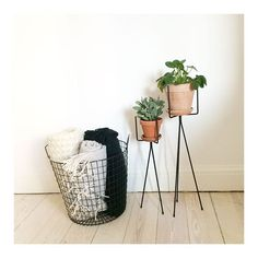 Do you need a place for your Blankets? Do like @louisesyrstad and use a Sostrene Grene Wire Basket.