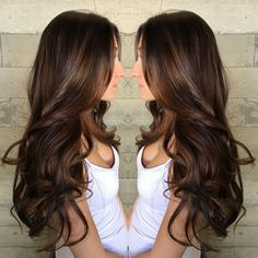 Wedding Hairstyles Half Up Half Down : 15 Delicious Chocolate Brown Hair Colors