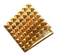 Rebel Waterford® Gold Compact Mirror Makeup Beauty Gift Women Cosmetic Folding #rebelwaterford