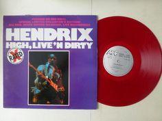 Jimi Hendrix High, Live' N Dirty Red Vinyl LP (X Rated)   http://r.ebay.com/lMz3Hl