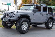 Custom Jeep Wrangler Sport Unlimited for Sale in Billet!