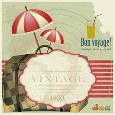 vector-vintage-travel-postcards