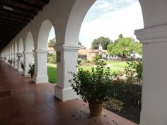 Church I attended as a child. . .  Mission San Luis Rey, Oceanside, CA