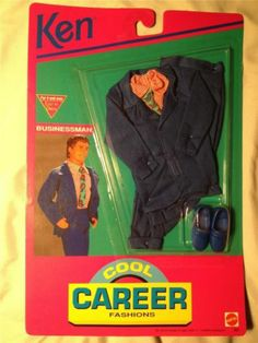 1992 Ken - Business Suit (Cool Career) #866