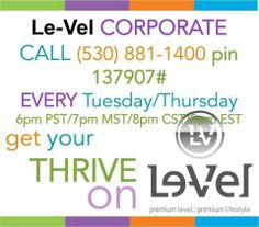 I dare you to call this number and have your life & health change!