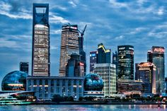 Dusk in Pudong