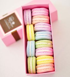 CUTE!! :: Clay French Macarons, Set of 12 | Just as sweet as the real thing, these clay French macarons are made for display.
