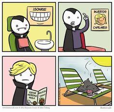 El vampiro popular. #humor #risa #graciosas #chistosas #divertidas