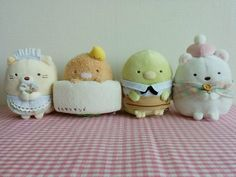 SUMIKKO GURASHI Cafe tea coffee Plush toy Complete assort SET