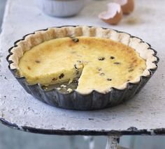 Yorkshire curd tart-Part of Good Food's British treasures series, this traditional tart makes a wonderful teatime treat Sweet Pie, Sweet Tarts, Yorkshire Food, Yorkshire Recipes, Bbc Good Food Recipes, Cooking Recipes, How To Make Scones, English Food, English Recipes