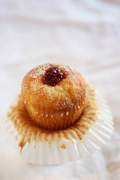 Jelly Doughnut Cupcake from Cutsie Cakes in Layton, Utah by projectdomesticationblog, via Flickr