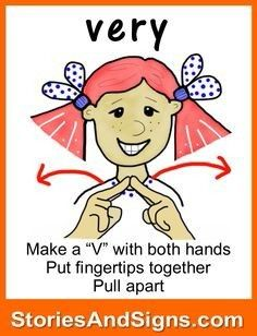 Very in sign language