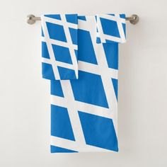 Scotland flag bath towel set - home gifts ideas decor special unique custom individual customized individualized