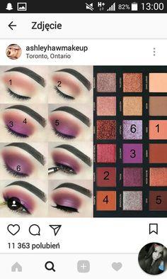 Huda Beauty Eyeshadow, Huda Beauty Makeup, Sexy Makeup, Makeup Inspo, Makeup Inspiration, Makeup Tips, Makeup Tutorials, Maquillage Yeux Cut Crease, Makeup Pictorial