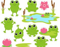 Princess and the frog clipart