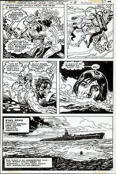 Original comic art UNKNOWN SOLDIER #219, page #15, DICK AYERS & ROMEO TANGHAL | eBay Comic Books For Sale, Spiderman, Batman, Unknown Soldier, Classic Series, Art Pages, Teen Titans, Comic Art, Dc Comics