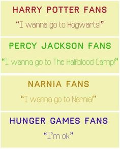 """Please notice that the Percy Jackson one says """"half blood camp."""" I feel very uncomfortable"""