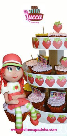 Rosita Fresita   #Cupcakes