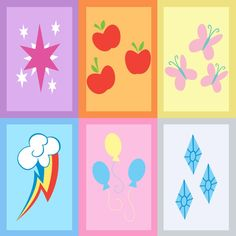 my little pony names and cutie marks - Google Search