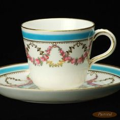 Minton cup and saucer early 1900s