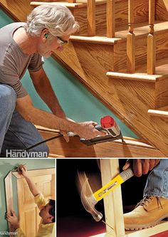 Improve your carpentry skills with these projects and tips from veteran carpenters from framing to trim carpentry. http://www.familyhandyman.com/carpentry