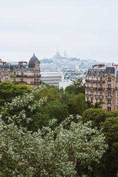 paris from parc des buttes chaumond