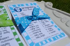 Baby Boy Shower Game Pregnancy How sweet it is by PartyFrosting
