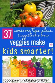 Here are 32 ideas, suggestions & tips about why veggies for kids. Included are ideas for picky eaters, easy veggie snacks, eating raw fresh veggies, low carb veggies & more. Nutrition Activities, Kids Nutrition, Nutrition Tips, Cacciatore, Tempeh, Healthy Eating Recipes, Healthy Snacks For Kids, Ribs, Vegan Steak