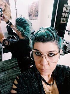 Turquoise hair... ;)