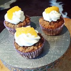 Healthy cakes made with leftover breadcrumbs.  Click on the picture for the recipe (in Dutch).
