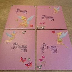 DIY Birthday Thank You cards....child just needs to sign them!