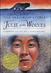 "July 2nd: Jean Craighead George, author of over 100 books, was born on this day in 1912. Her ""Julie of the Wolves"" won a Newbery medal in a publishing career that lasted over 60 years. She also wrote the beloved ""My Side of the Mountain."" She focused on characters existing in the natural world."