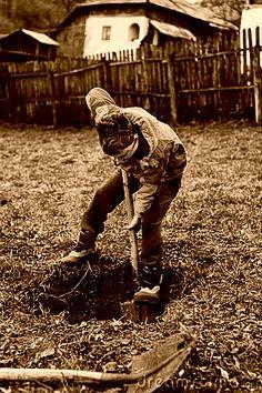 Zoals eerder vermeldt graaft steven elke dag na school. Soms met Lewis maar eigenlijk doet hij het liever alleen. Dan kan hij langer graven want anders zaagt Lewis na een tijdje dat hij naar huis wil gaan.