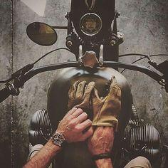 It's better in the wind  #watch #motorcycle #glove #bracelet