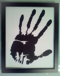 The Walking Dead silhouette hand cut art by Vongooz on Etsy